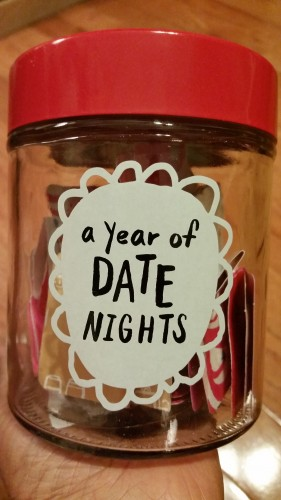A year of date nights