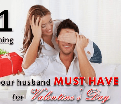 The 1 Thing Your Husband Must Have for Valentine's Day