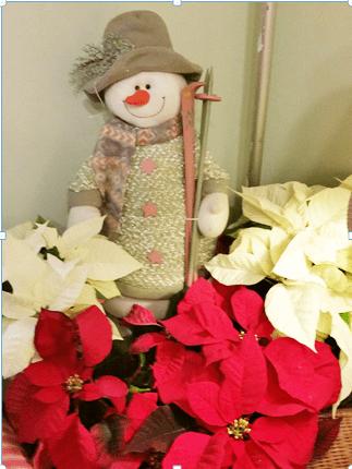corner snowman