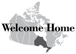 welcome home ontario logo
