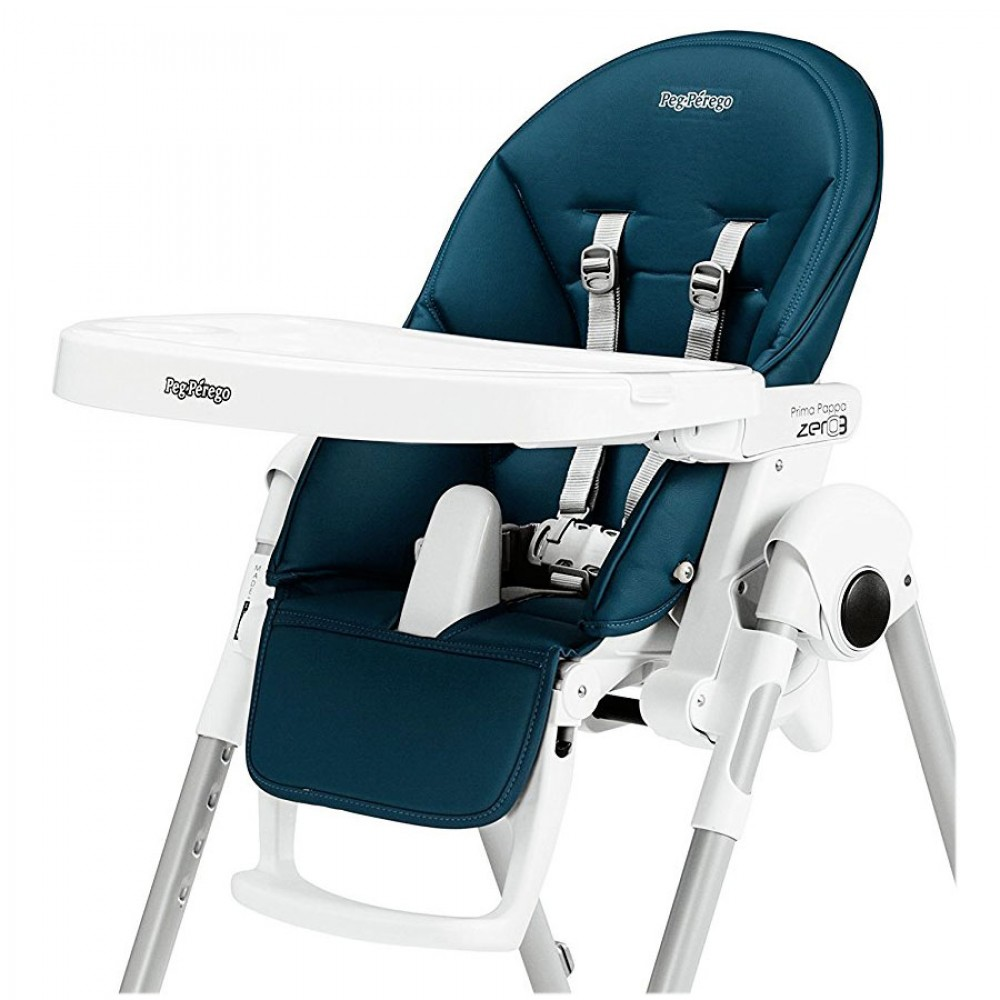 Perego High Chair Original Cover For High Chair Prima Pappa Zero3 Petrolio Bmpa0300 Bl71