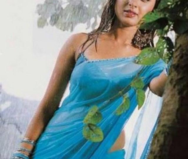 Actress Wet Saree Hot Still Tamil
