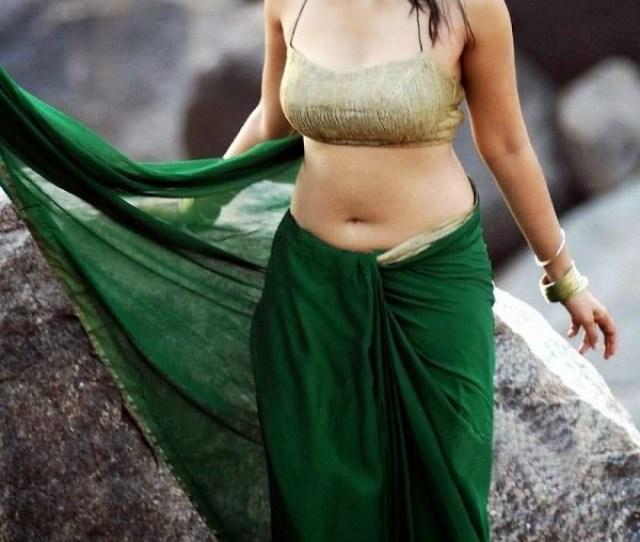 Anushka Shetty Hot In Backless Blouse