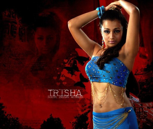 South Indian Actress Wet Saree Hot Photos
