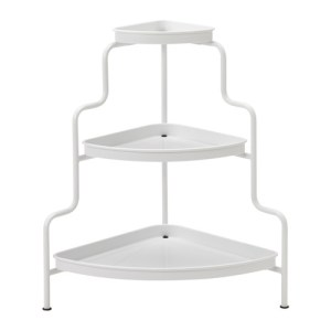 IKEA Socker corner plant stand. It has 3 tiers