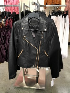 BlanNYC faux leather jacket, part of the Nordstrom Anniversary Sale. It has gold zippers.