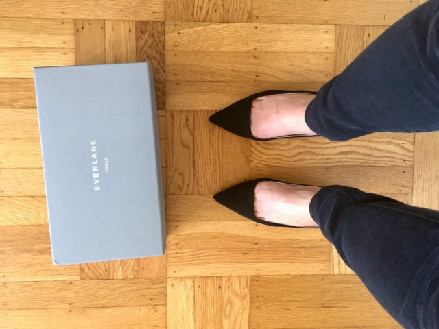 333f56ca12 Upon inspection, it seems decently well made, though there was some  wrinkling in the interior lining of the shoe. For the exterior, Everlane  recommends ...