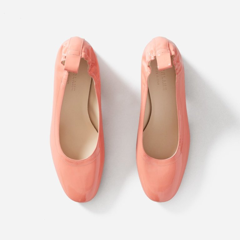 Everlane day heels in coral