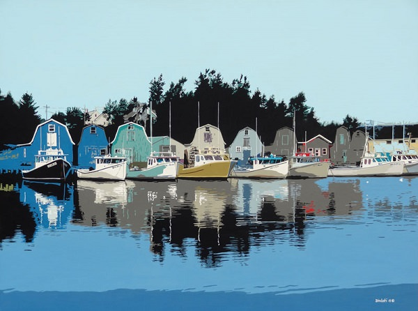 French River Reflections - Tony Diodati