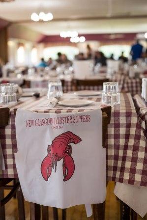 New Glasgow Lobster Suppers Bib