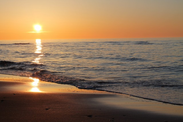 Family friendly beach in scenic Prince Edward Island.