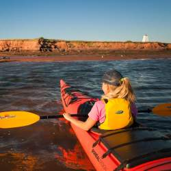 Kayaking in Victoria By the Sea