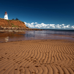 Breathtaking coastal drive in Eastern Prince Edward Island.