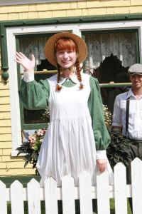 This is a photo of Anne Shirley of Green Gables