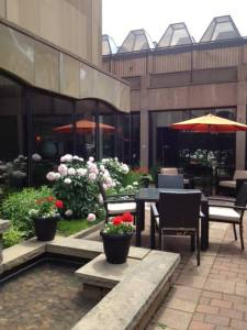 Dine in the sunshine at Mavors in Downtown Charlottetown.