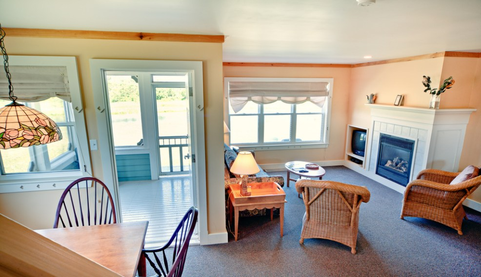 Rodd Crowbush offers many small and large cottages that have beautiful views of the Links at Crowbush Cove and Lakeside Beach.
