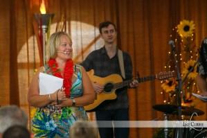 Kerri-Wynne MacLeod - Co-host of the Lamb Luau