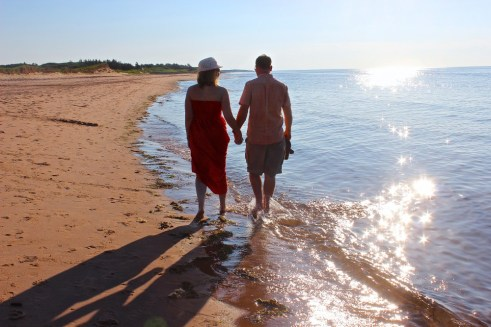 Lakeside Beach in Prince Edward Island