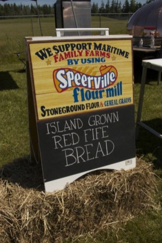 Island Grown Red Fife Bread