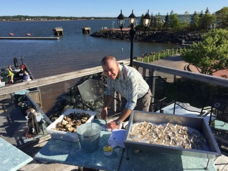 Lobster on the Wharf, Charlottetown, Prince Edward Island