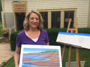 Artist at Avonlea Village