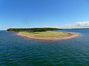 View from the Ferry to PEI