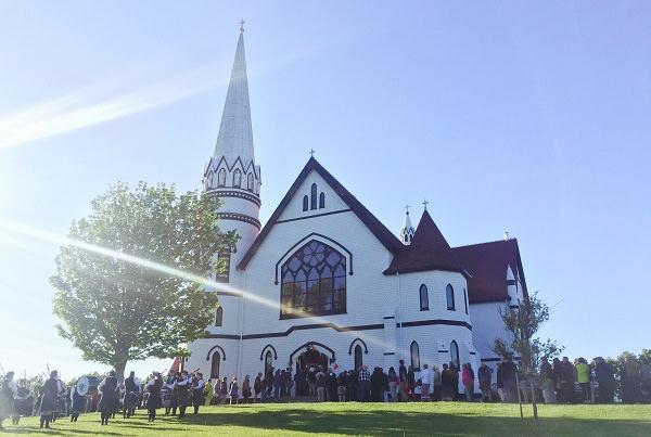 Festival of Small Halls - St Mary's Church, PEI