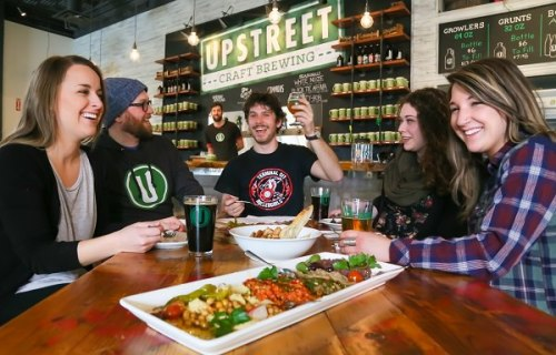 Upstreet Craft Brewing, Charlottetown, PEI