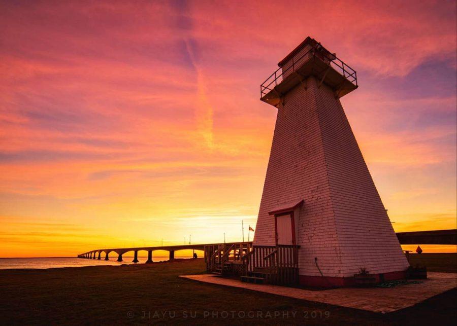 Port Borden Back Range Light | Photo by Jiayu Su