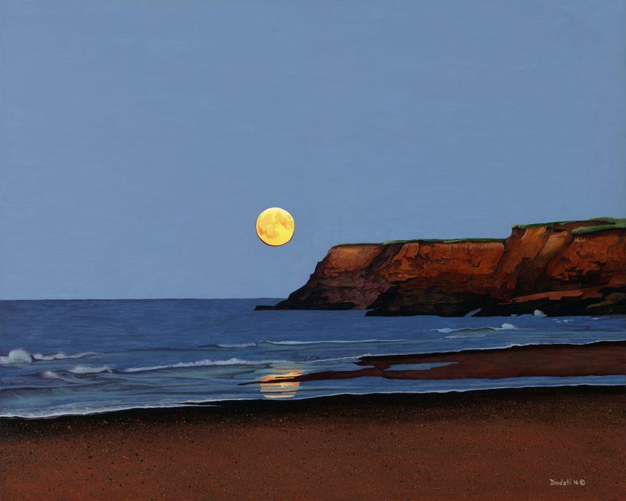 """Moonrise at Park Corner"" by Tony Diodati"