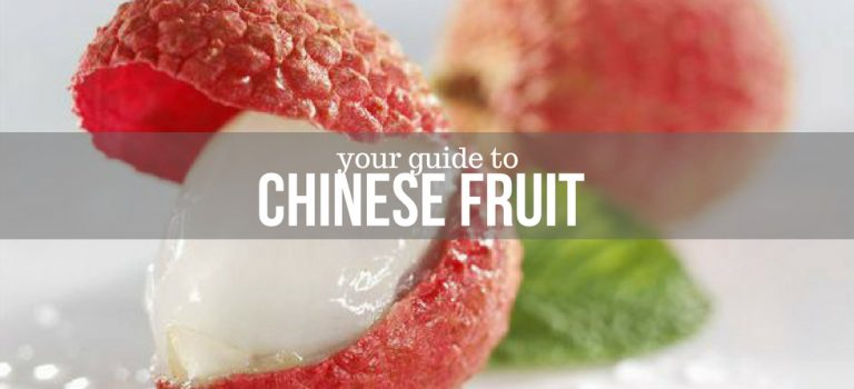 A Visual Guide to Chinese Fruits