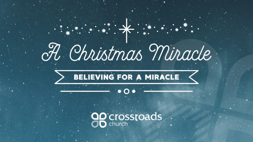 Believing For A Miracle Image