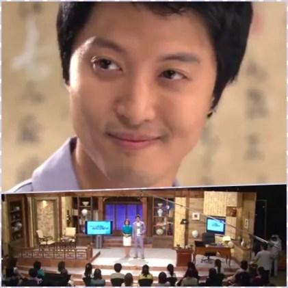 Lee Dong-Gun as famous art expert Kim Bum-Sang 'When it's at night'
