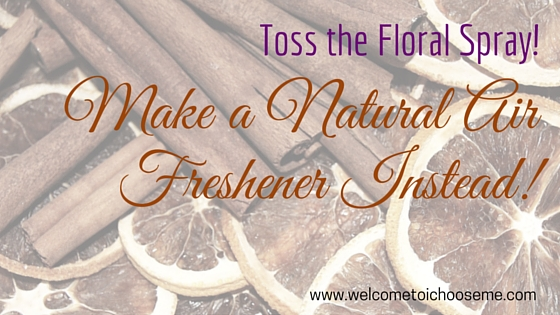 Natural Orange & Cinnamon Air Freshener