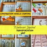 Transportation theme III and math printables