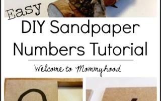 Sandpaper numbers tutorial