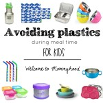 Avoiding plastic for meal time with kids