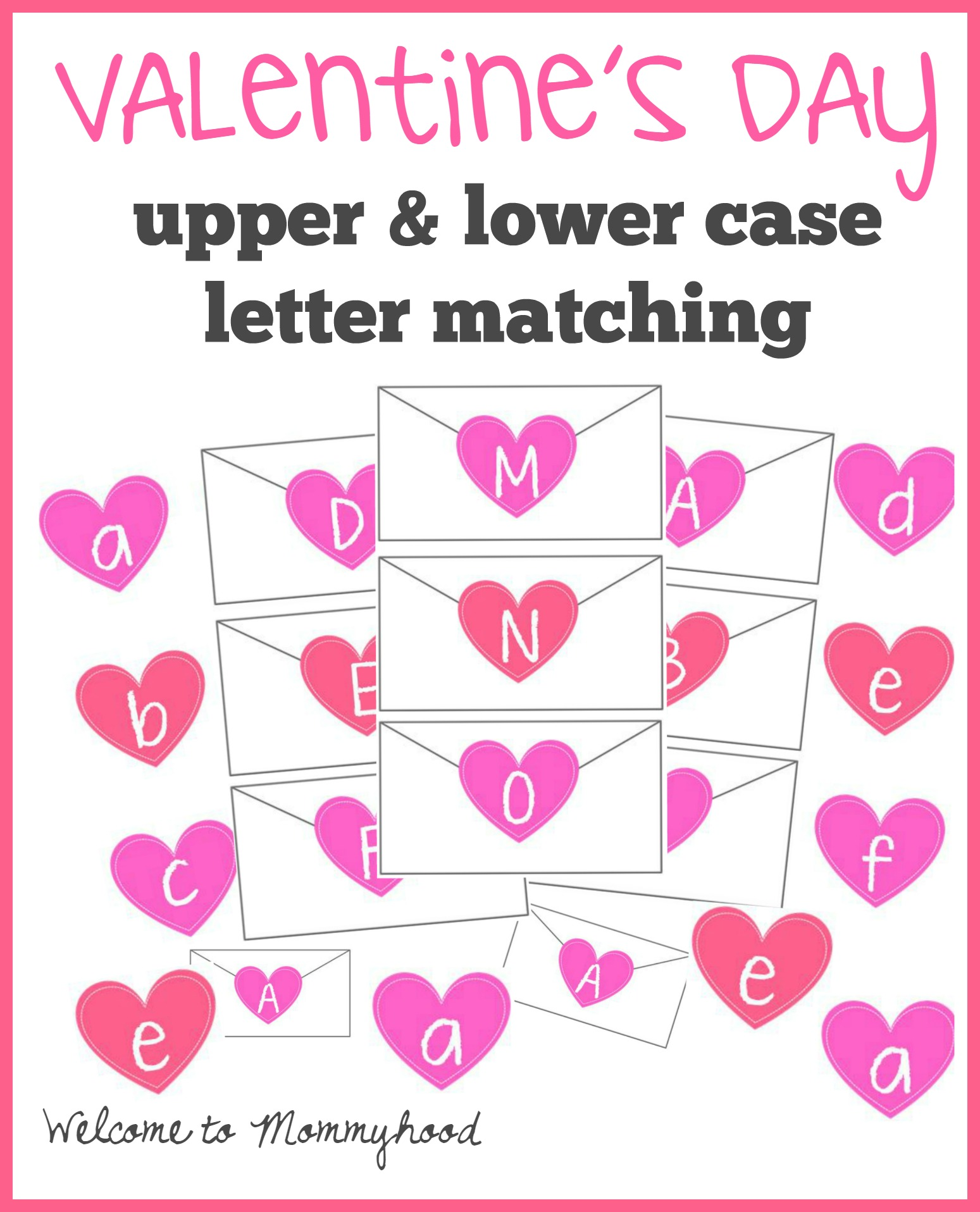 Valentine S Day Letter Matching