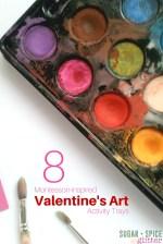 8 Valentine's Day Art Activites