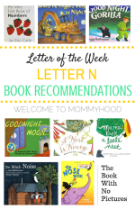 Letter Nn book recommendations