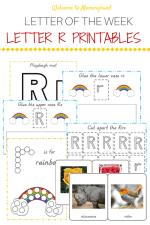 Free Letter R Printables Pack