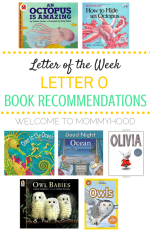 Letter O book recommendations