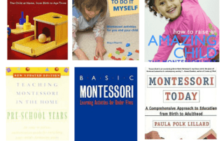 Montessori books for parents and caregivers #montessorihome, #montessori