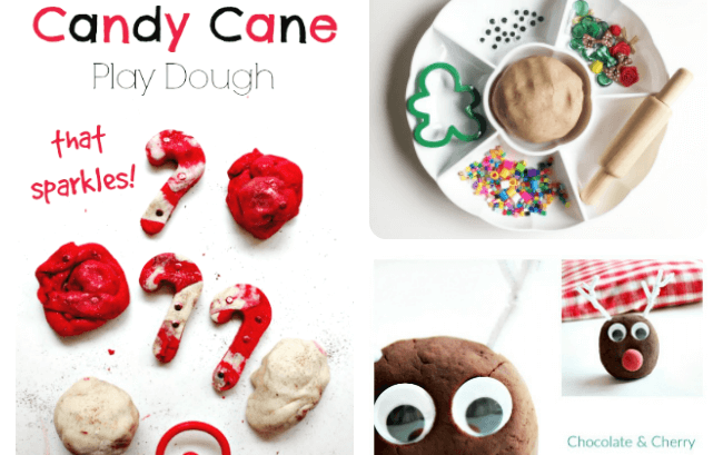 Christmas play dough recipes