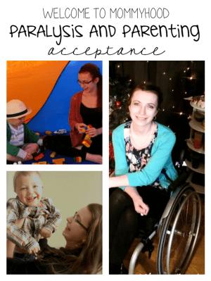 Dealing with paralysis: how my 3 year old taught me to accept myself #paralysis