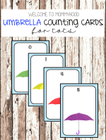 Umbrella counting cards 3 ways to count