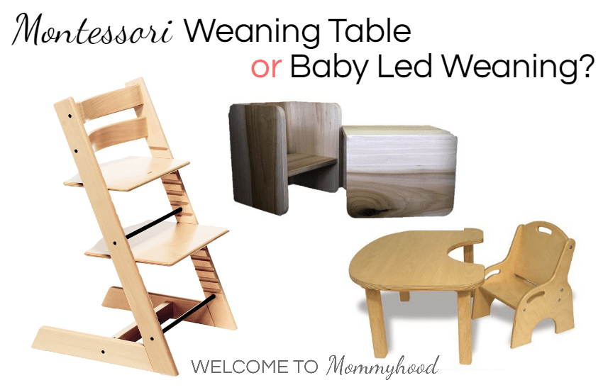 Introducing Solids Baby Led Weaning Vs Montessori Weaning
