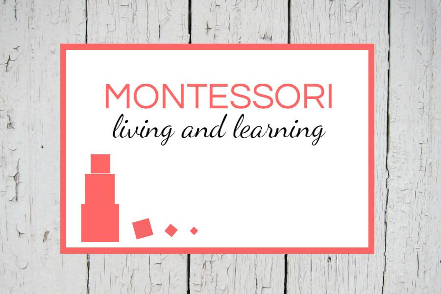 Implementing Montessori at home #montessori