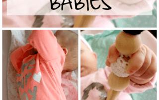 Montessori babies: Respecting babies #montessori #montessoriinspired
