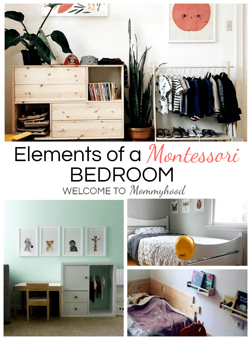 Are you looking to set up a Montessori Bedroom but you aren't sure where to start? This article explains the basics and what to look for when setting up your Montessori bedroom for your child! #Montessorihome #montessoribedroom